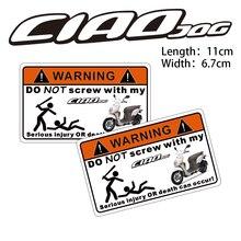 KODASKIN мотоцикл дешевые 2D креативный Предупреждение ющий стикер наклейка для YAMAHA CIAD JOG