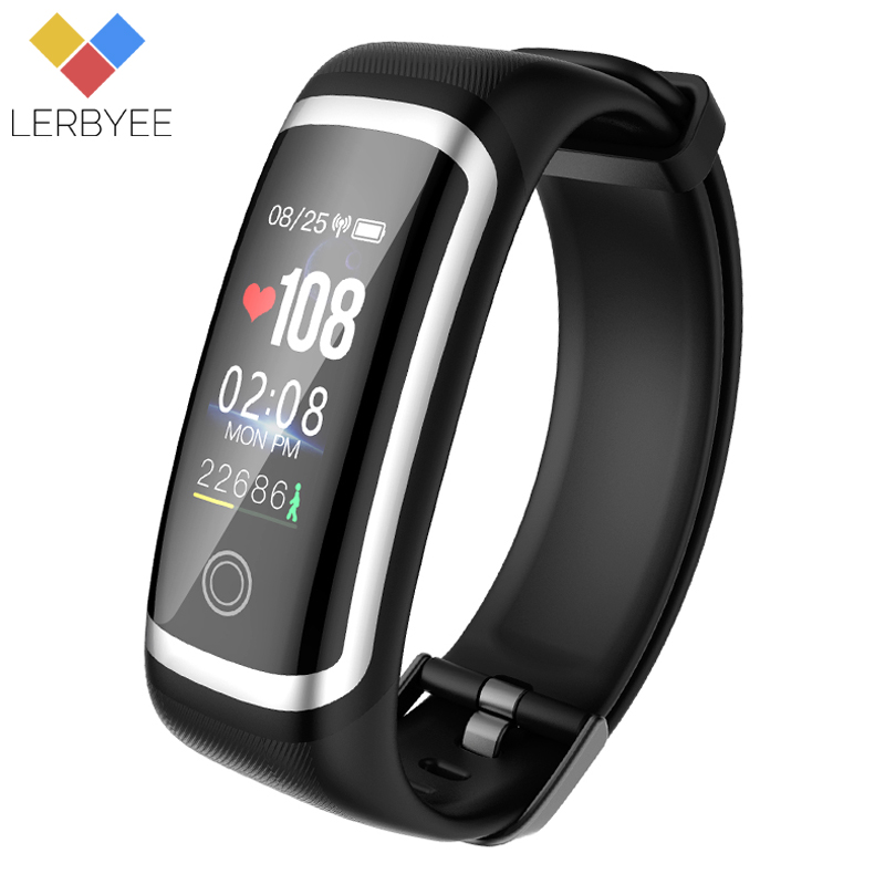 Lerbyee Fitness Tracker M4 Heart Rate Monitor Smart Bracelet Sleep Monitor Waterproof Bluetooth Sport Wristband for iOS Android lerbyee fitness tracker m4 heart rate monitor waterproof smart bracelet bluetooth call reminder sport wristband for ios android