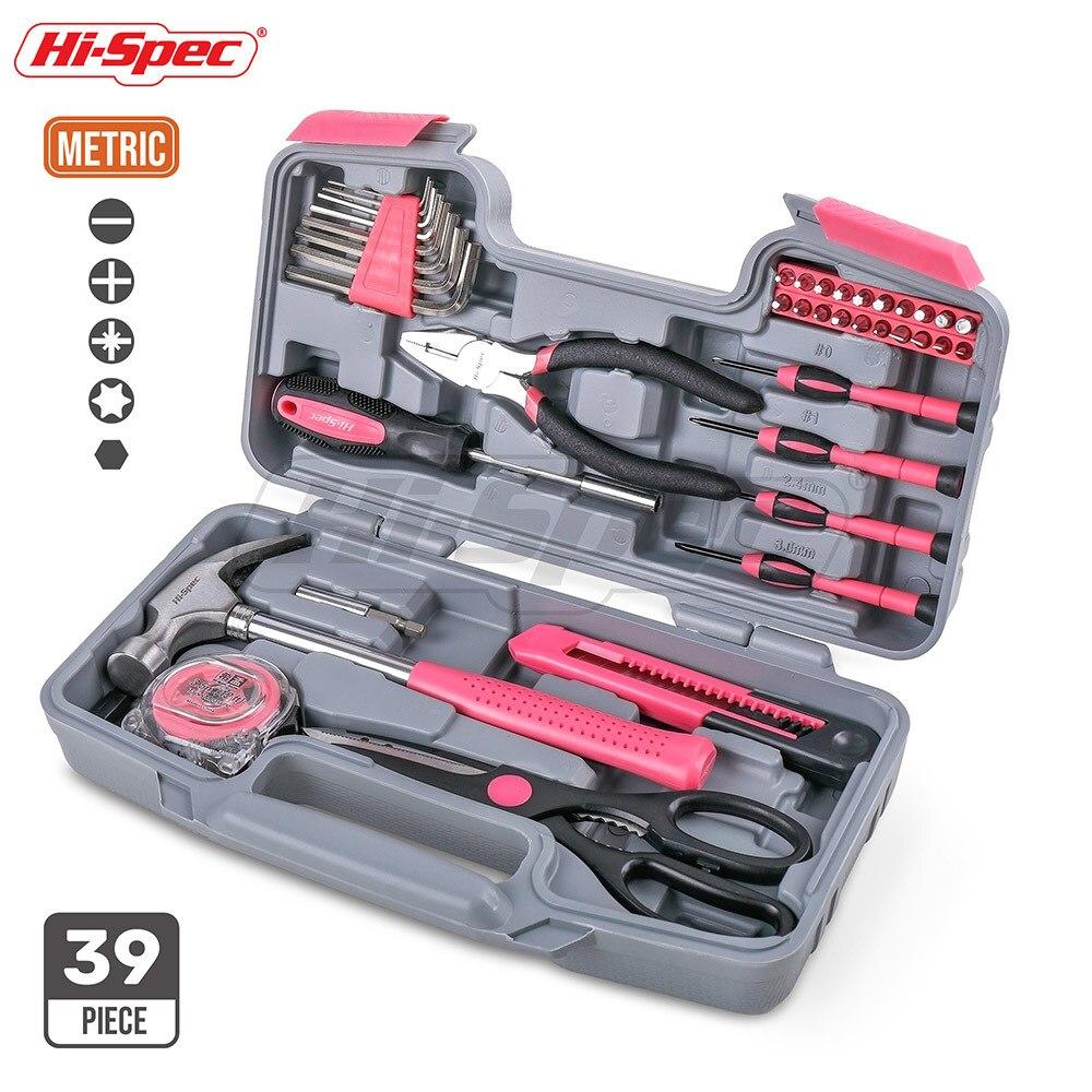 Hallo Spec 39 Stuck Hand Tool Set Rosa Madchen Dame Frauen Geschenk