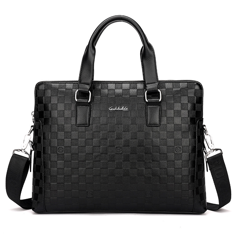 FREE Shipping High Quality Mens PU Leather Briefcase Tote Laptop Bag Lawyer Handbag Business Bag Men Briefcases