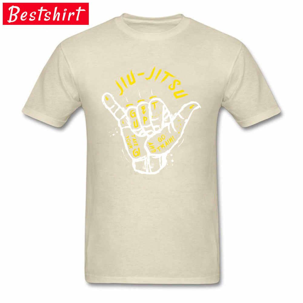 Jiu Jitsu BJJ Judo Brasilien Jujitsu T-shirt Kurash Slim Fit Tops Shirts 100% Baumwolle Oansatz Modische Top T-shirts Jugend T-Shirt