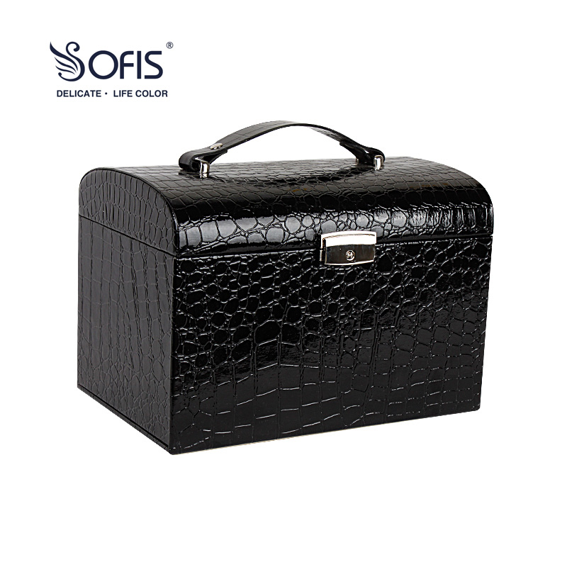 sofis Large Euro-style Princess jewel case jewelry box Graduation gift