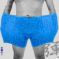 3pcs/one lot 2016 New Boxer Homme Sexy  Cotton High  Hot Sale High Quality Sexy Men Boxer Shorts D10