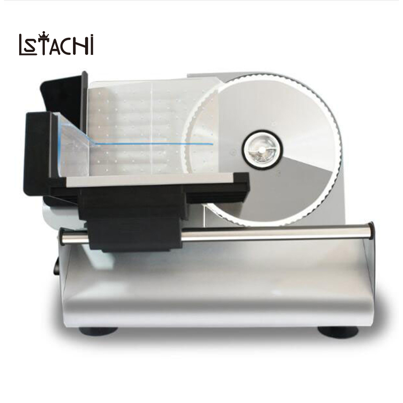 LSTACHi COMMERCIAL MEAT SLICER Electric Meat Cutter Sliceable Pork Frozen Meat Cutter Slicer Cutting Machine 220V free shipping exports to united states 110v 220v desktop type meat cutter meat cutting machine meat slicer