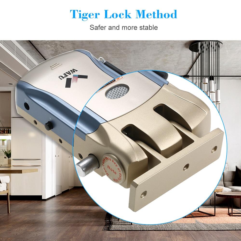 Image 5 - WAFU WF 008U App Door Lock Bluetooth Door Lock Remote Control Door Lock-in Electric Lock from Security & Protection