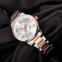 SINOBI genewskie zegarki złote damskie moda zegary bransoletka zegarek zegarek Quartz z datą znanych marek panie Montre Femme