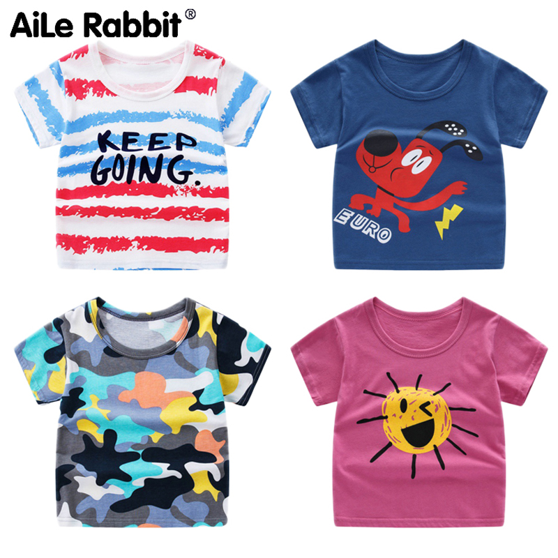 Children Undershirt Short-Sleeve Baby Summer Boy Korean Garment T-Pity New-Pattern