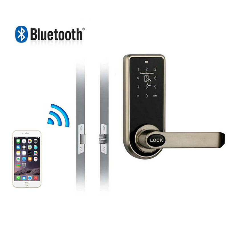 Bluetooth smart locks with touchscreen code for hotel and apartment Compatible with iOS and Android Bluetooth smart locks with touchscreen code for hotel and apartment Compatible with iOS and Android