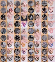 36PCS Stamping Manicure Image Nail Art Stamp Template Tool Plate Polish (hehe 1-36designs) HEHE