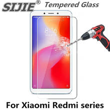 Tempered Glass For xiaomi A1 A2 5X 6X max 3 mix 3 display protector For Redmi 5 5a 6 6a note 4 5 4X 5 plus cover glass film 9H(China)