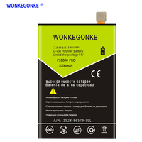 WONKEGONKE 11000mah For Blackview P10000 pro Battery Batterie Bateria