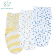 3Pcs/Lot Newborn Baby Swaddle Wrap Soft Infant Products Blanket & Swaddling Sleepsack Lovely Gift