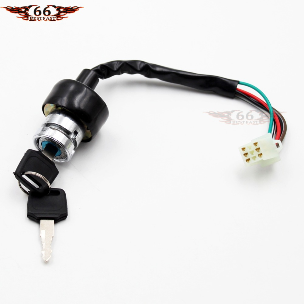 hight resolution of aliexpress com buy ignition switch key 6 wire 50cc 70cc 90cc 110cc 125cc 150cc