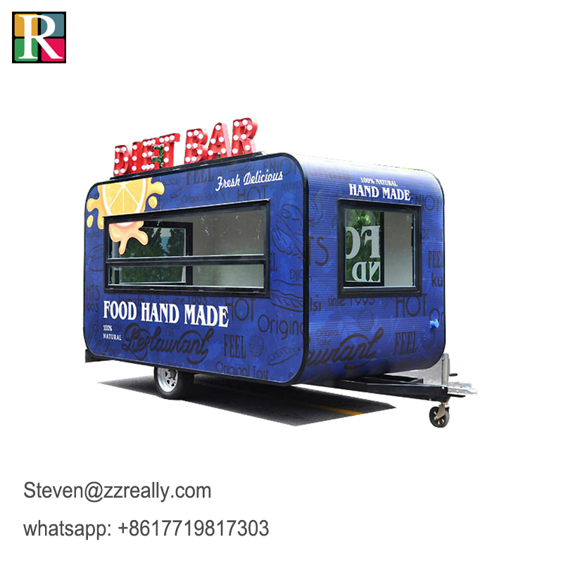 RL-B39 Electric Food Truck Ice Cream Mini Truck Food Car