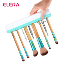 Magic Silicone Makeup Brushes Holder Portable Make Up Brush Holder Box Makeup Tools Storage Cosmetic Brush Box 3 Colors(China)