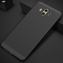 Cyato PC Heat Dissipation case for huawei MATE 8 9 10 P20 P10 lite PRO Y6 Y5 Y3 II 2017 Y7 Prime P9 NOVA 2 PLUS 2S P8smart shell