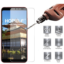 HOPELF Tempered Glass for Xiaomi Mi A2 Lite 6X Screen Protector 2.5D Phone Protective Safety Glass for Xiaomi Mi A2 Lite Glass