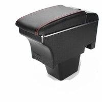 For Skoda Rapid Spaceback armrest box central Store content box