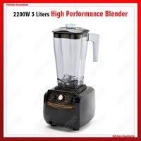 A5500 3L большая емкость коммерческих Электрический многофункциональный коктейль лед фруктовый сок блендер с bpa бесплатно 3HP 2200 W