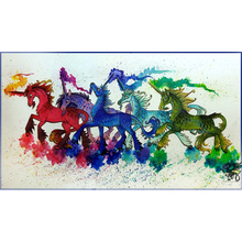 unicorn diamond Embroidery diy painting mosaic diamand 3d cross stitch pictures H855