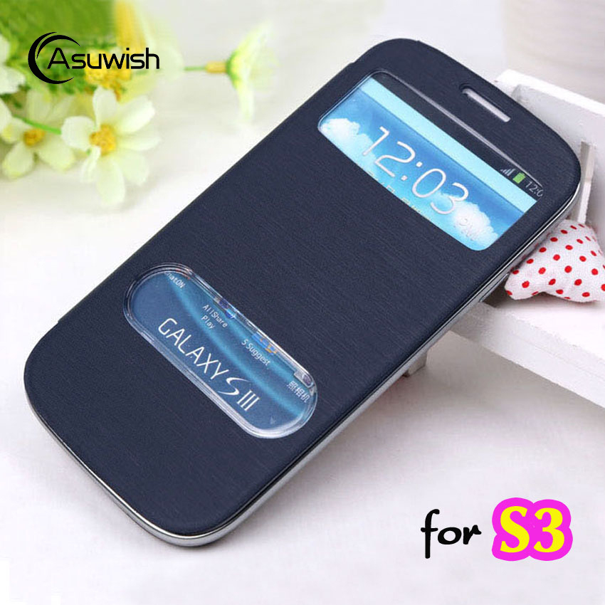 Asuwish Flip Cover Leather Case For Samsung Galaxy S3 Galaxys3 Neo Duos S3 S 3 Gt I9300 I9301 I9301i I9300i Gt I9300 Phone Cases Case Visa Back Cover Casecase 500 Aliexpress