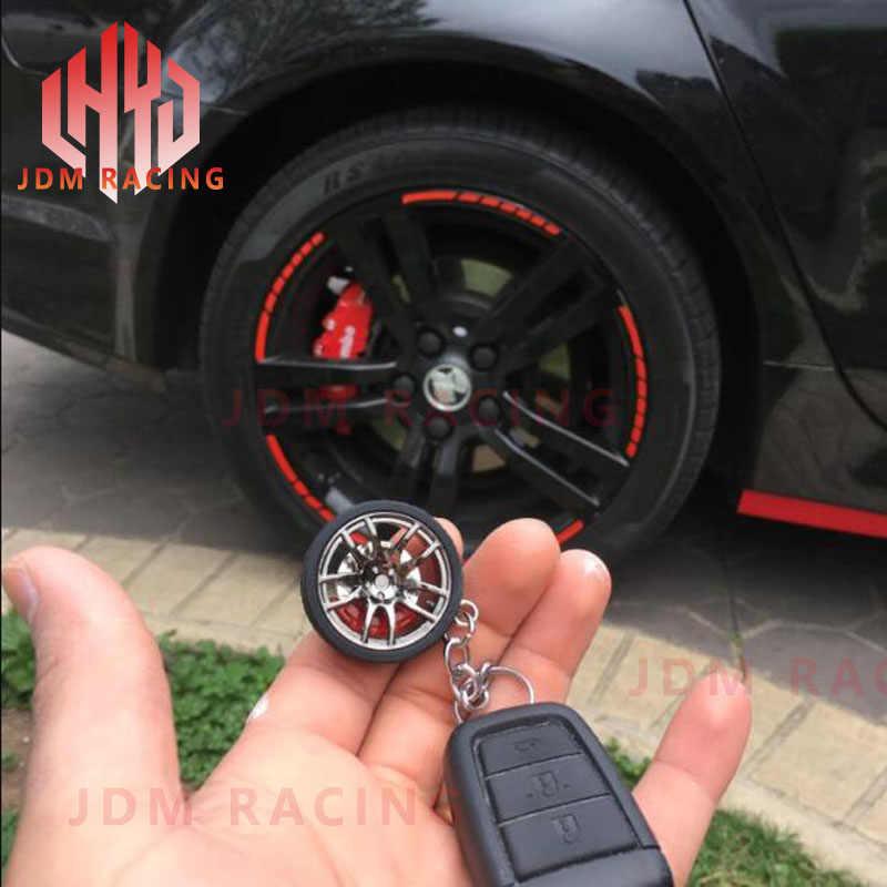 ホットリム車のホイールターボキーホルダーキーリングとブレーキディスク車のタイヤホイールキーホルダーオート車のキーチェーンキーリング bmw アウディ