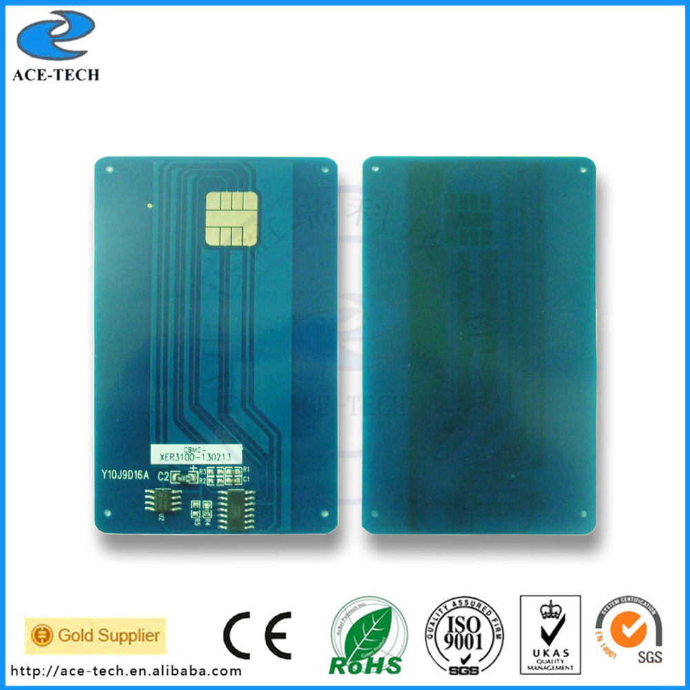 FaxCenter 3100 Reset toner cartridge chip for Xerox 3100 smart chip card used in laser printer CWAA0758 106R01379