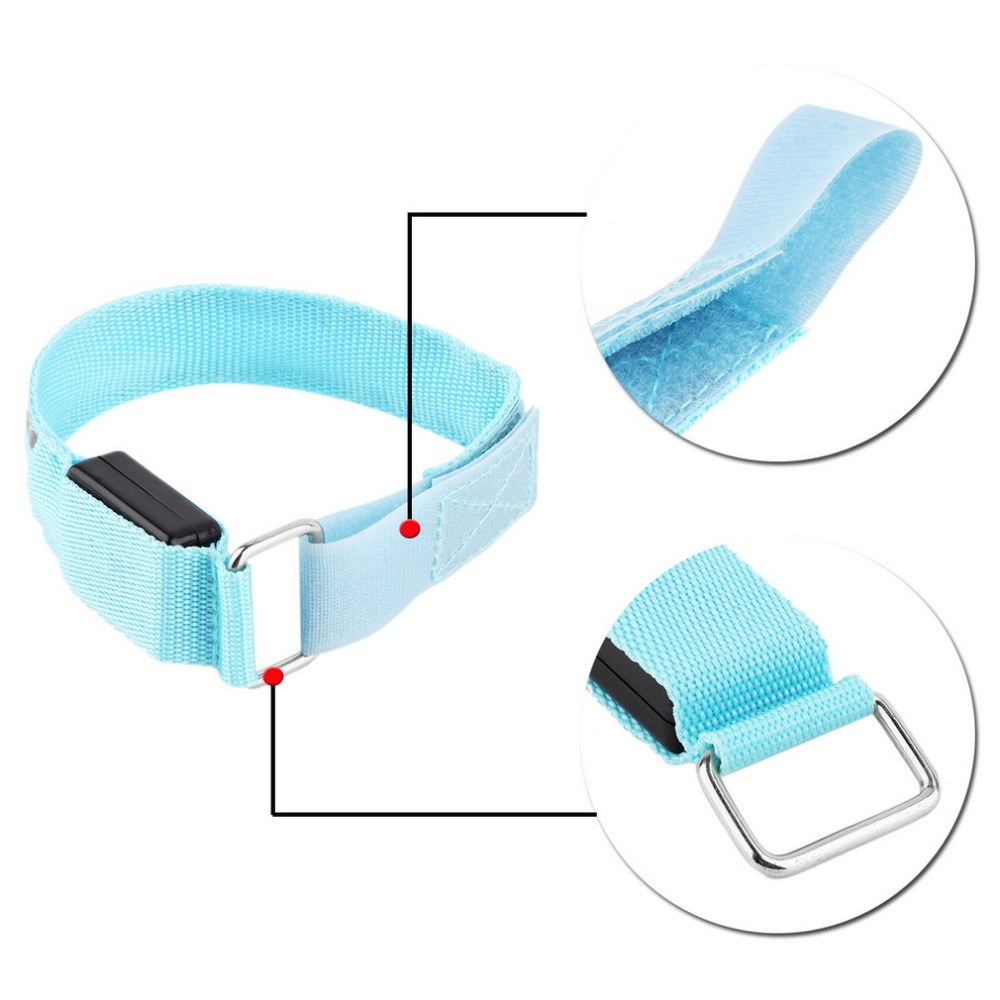 running band can men with for this rbvagvbcer pet safe women and sports led also outdoor dog bands product safety bracelet night walking all at summer the armband