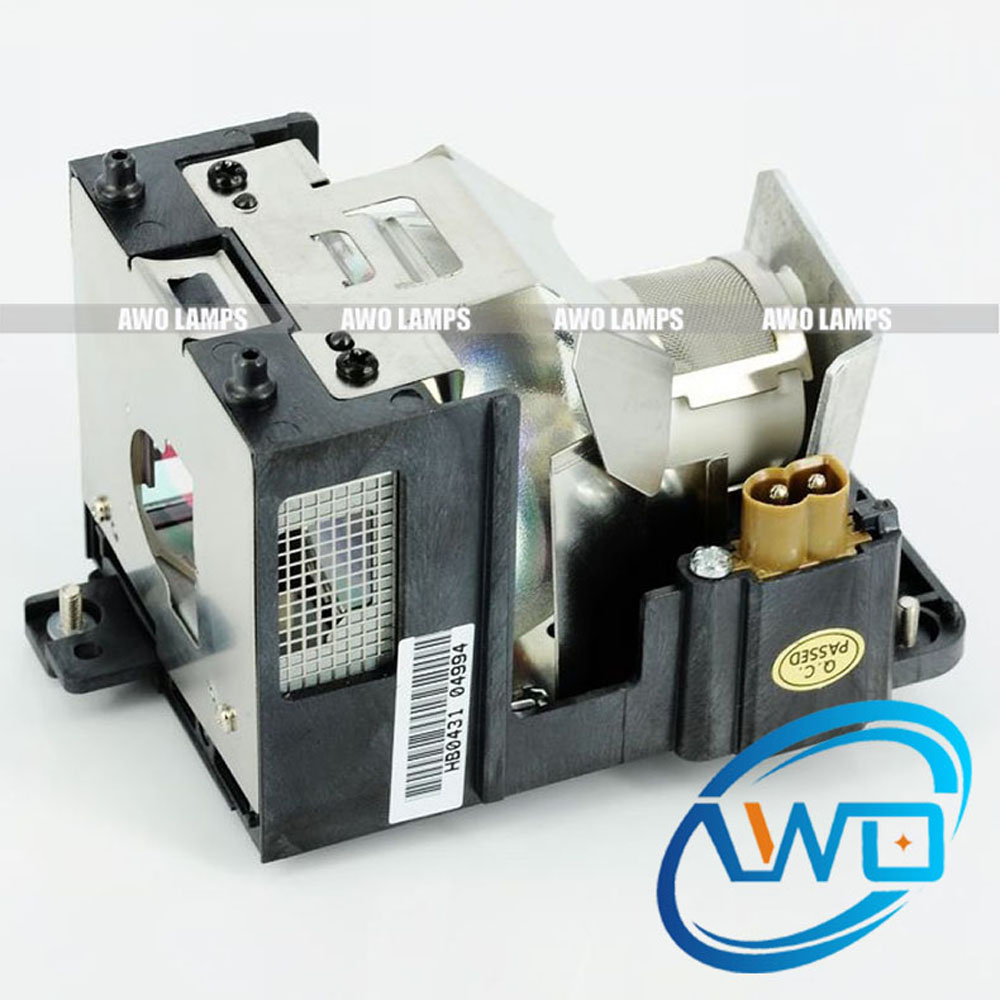 AWO AN-XR10LP Replacement Projector Lamp ANXR10LP with housin for Sharp PG-MB66X/XG-MB50X/XR-105/XR-10S/ XR-11XC/XR-HB007/XR-10X awo an lx20lp bulbs replacement projector bare lamp only compatible with sharp pg ls2000 pg lw2000 pg lx2000 xr e2630xa xr e2530