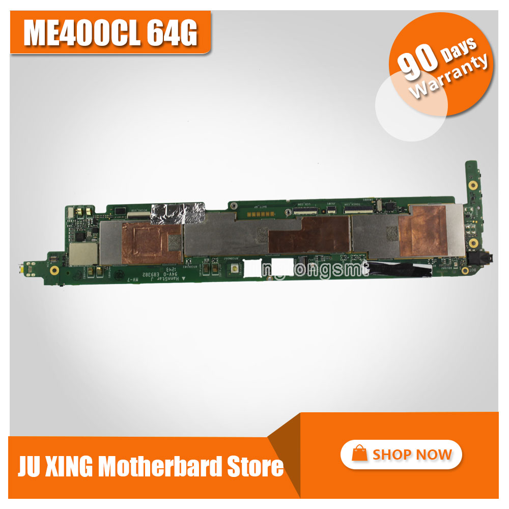 все цены на For Asus ME400CL VivoTab Smart ME400CL ME400C 64GB Mainboard REV 1.3 G tablet motherboard free shipping онлайн