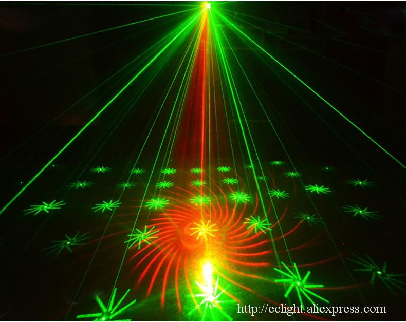 luz de controle liderado 60 w gobos dmx 06