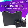 EK1038 Портативный Беспроводная Микрофонная Система!! EW100 EW 100-ENG G3 Bodypack Петличный Микрофон Для DV Камеры DSLR Видеокамеры Интервью