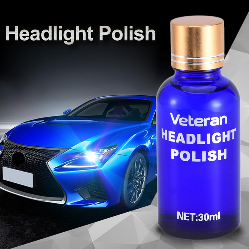 Goxfaca Car Headlight Renovation Repair Kit Repair Spray Polishing Coat Repair Car UV Lights Polishing Tool Headlight Cleaning