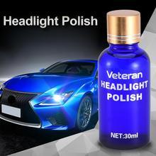 Goxfaca Car Headlight Renovation Repair Kit Repair Spray Polishing Coat Repair Car UV Lights Polishing Tool Headlight Cleaning