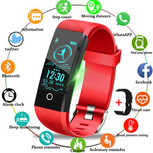 Ini 2019 Baru Smart Sport Watch IP67 Tahan Air Kebugaran Watch Tekanan Darah Heart Rate Monitor Pedometer Watch Wanita + Band(China)