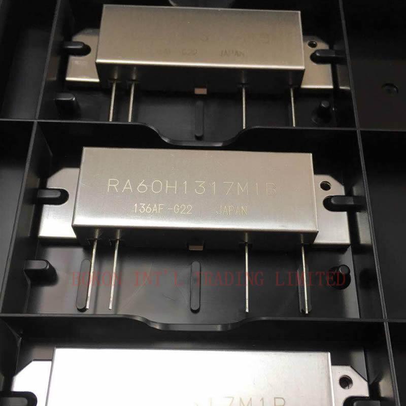 RA60H1317M1B Silicon RF Power Modules 136-174MHz 60W 12.5V For Digital Mobile Radio RA60H1317M RA60H1317 M New Original Stock