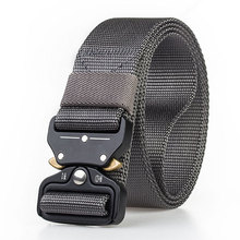 New Quick Release Button Outdoor Safety Belt Dry Pure Nylon for Training 3.8cm