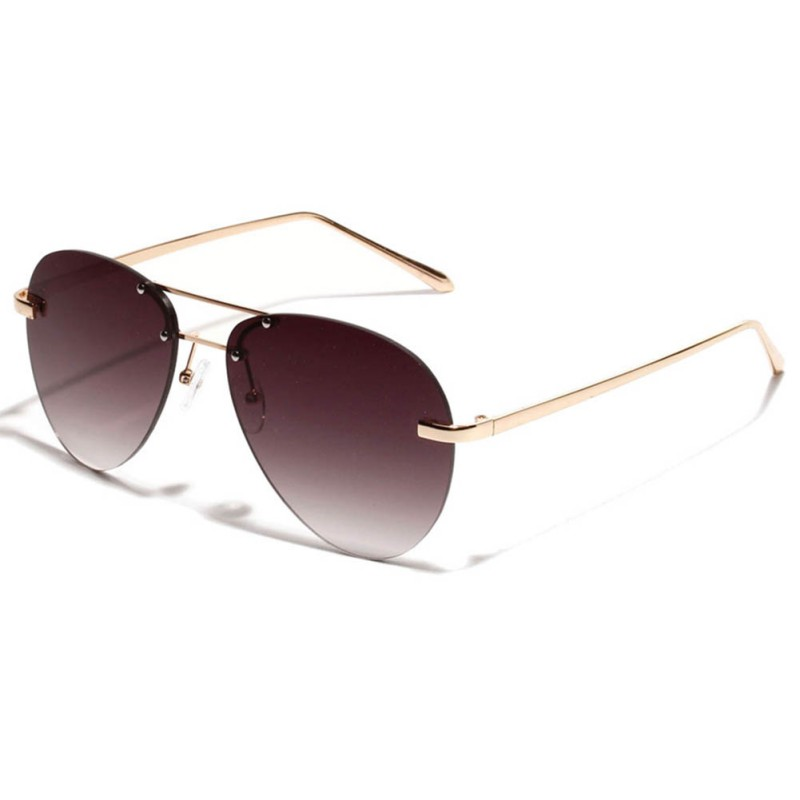 Aviator Men Sunglasses Classic Brand Designer Unisex Sun Glasses For Women Alloy Legs Glasses Oculos Feminino Eyeglasses 2018 ...