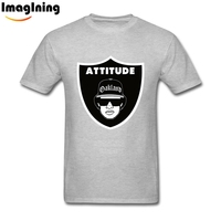 Parody Attitude Eazy E Raiders T Shirts XXXL Boy Crazy Fashion Summer Tee Shirts