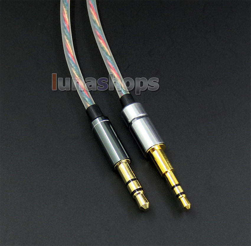 Hi-OFC Headphone Headset Earphone Cable For Audio Technica ATH-M50x ATH-M40x LN005079