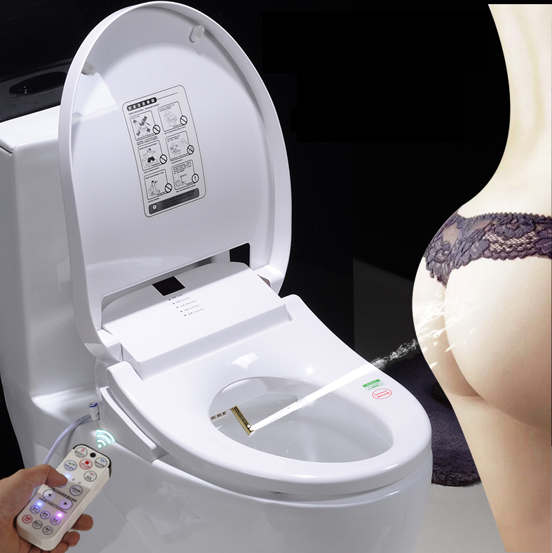 smart heated toilet seat remote control intelligent female. Black Bedroom Furniture Sets. Home Design Ideas
