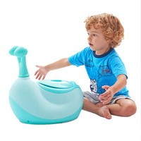 Baby Toilet Cute Cartoon Snail Portable Baby Potty Chair Child Toilet Seat Training Girls Boy Potty