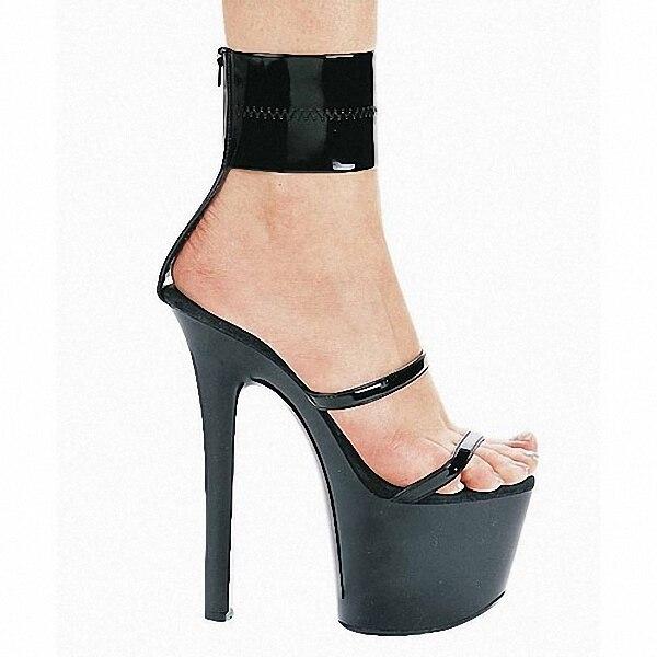 ФОТО 20 CM high heels professional joker lady shoes CM photo photo shoes sandals