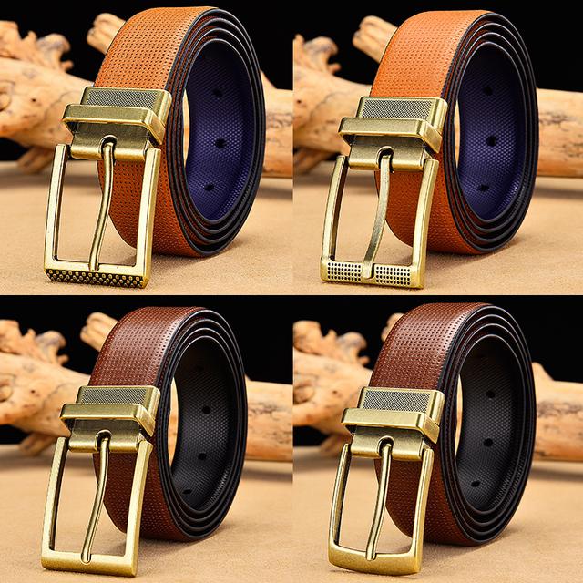 Cinturón reversible Microperforado