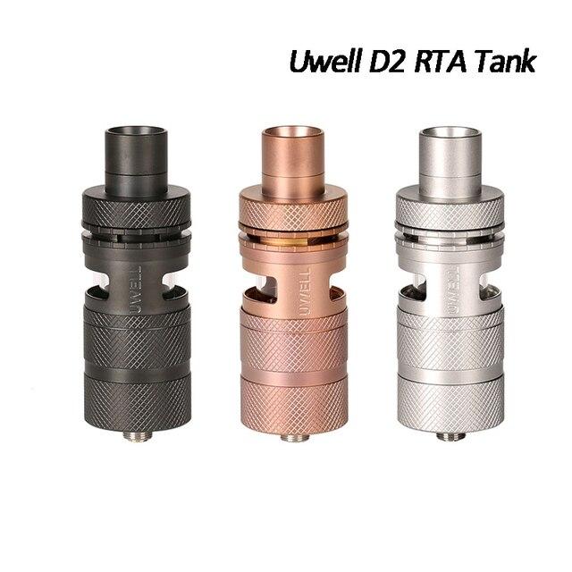 Ban đầu UWELL D2 RTA 4 ml Atomizer Có Thể Điều Chỉnh Luồng Không Khí 510 Chủ Đề Loại-trong Atomizers Thuốc Lá Điện Tử Hàng Đầu Phương Pháp Làm Đầy