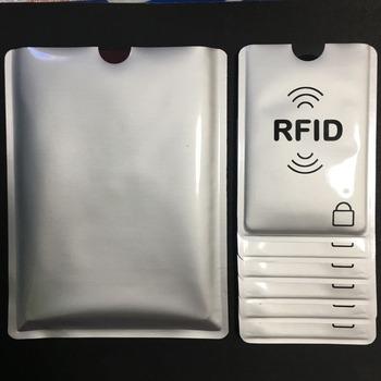 20 + 3 sztuk RFID blokowanie drukowane Aluminium rękaw cardsheild chronione karty ID Anti Theft karty kredytowej tarcza 3 paszport uchwyt na tanie i dobre opinie
