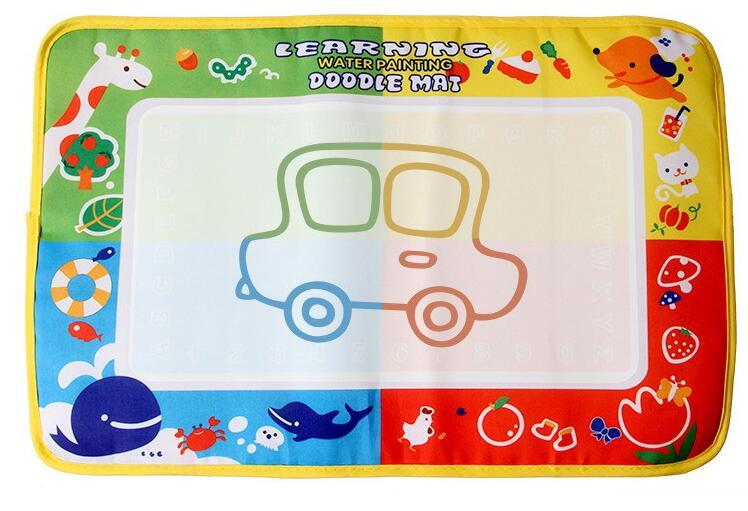 46x30cm 4 Color Water Drawing Toys Mat Aquadoodle Mat&1