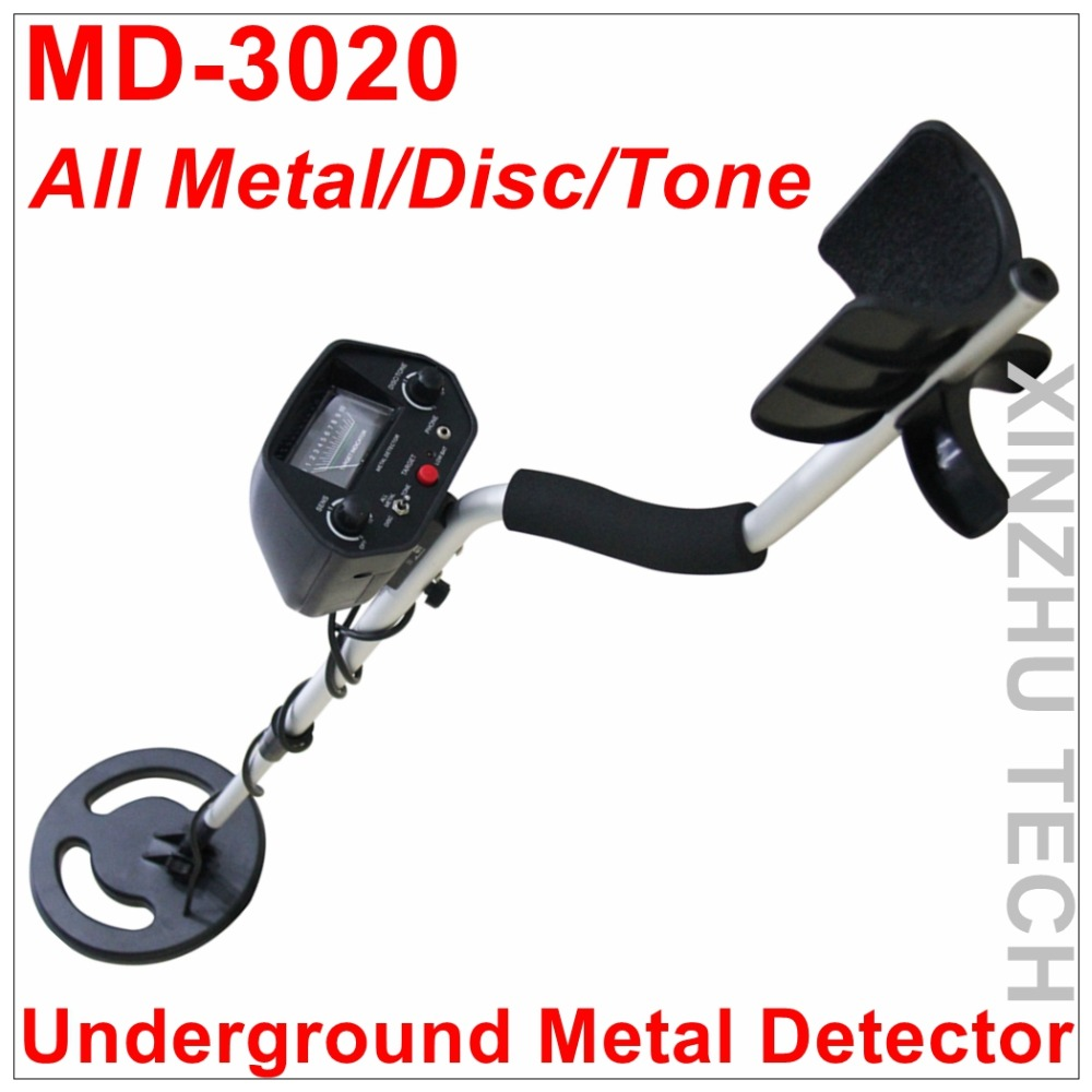 MD-3020 Metal Detector MD3020 Underground Gold Detector Treasure Hunter With One Year Warranty detector de metal deep gold underground metal detector md 3010 ii with lcd