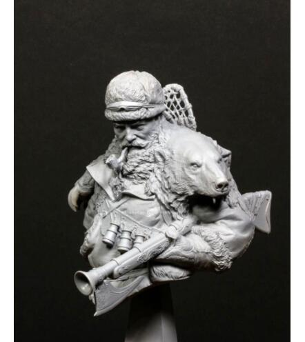 1/10 Righteour Man Soldier Winter Bust    Toy Resin Model Miniature Kit Unassembly Unpainted