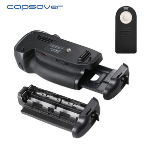 Image 2 - Capsaver 니콘 d750 카메라 용 수직 배터리 그립 MB D16 교체 멀티 파워 배터리 홀더 EN EL15 리모컨으로 작동